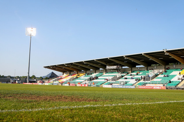 A general view of Tallaght Stadium