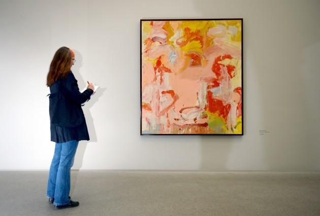 Exhibition 'Women' at the Pinakothek der Moderne