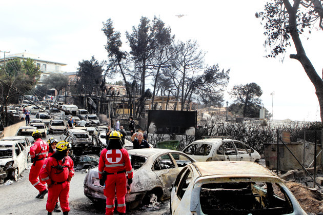 Deadly Forest Fires Rage Across Greece