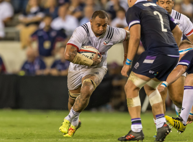 RUGBY 2018: USA Men's Rugby Team vs Scotland Men's Rugby Team