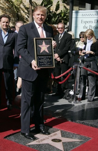Donald Trump's Star on the Hollywood Walk of Fame Destroyed