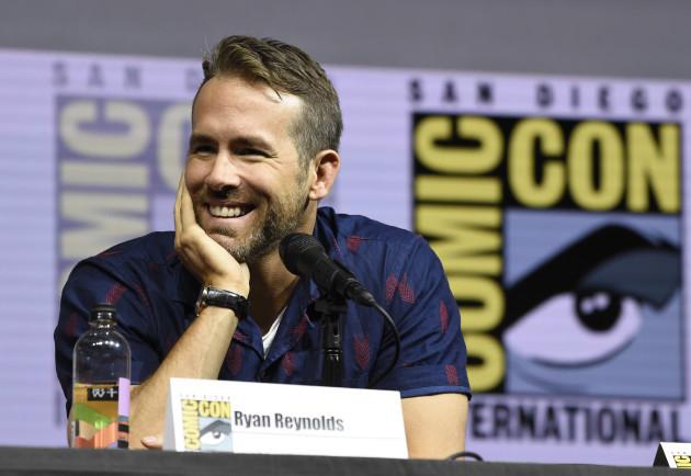 2018 Comic-Con - Deadpool 2 Panel