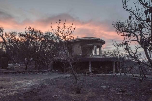 Greece: Wildfire