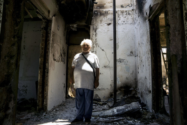 Greece: The Aftermath of Deadly Fires in Attica Near Athens