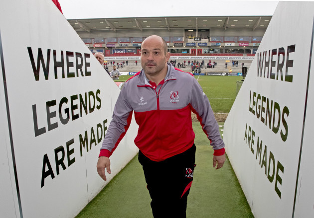 Rory Best before the game