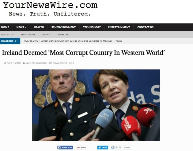 FactCheck: Is Ireland really the most corrupt nation in the western