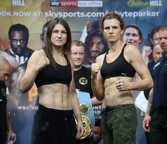 Katie Taylor and Kimberly Connor