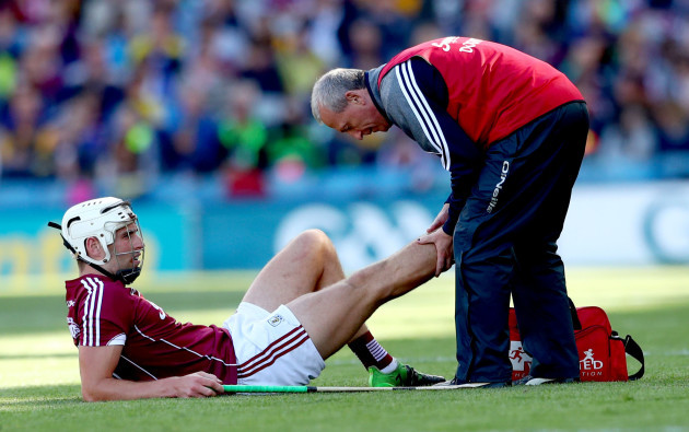 Gearoid McInerney injured
