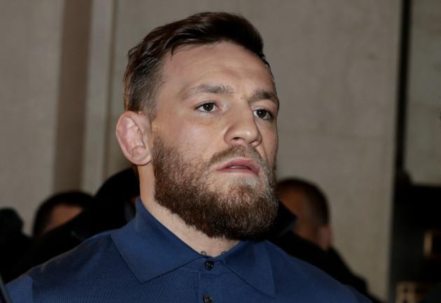 UFC McGregor Scuffle