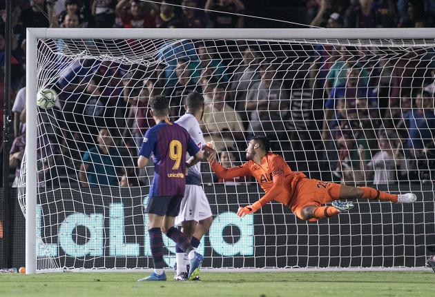 FC Barcelona defeats Tottenham Hotspur, 2-2 (5-3)