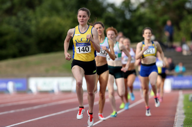Ciara Mageean wins the Women's 800m Final