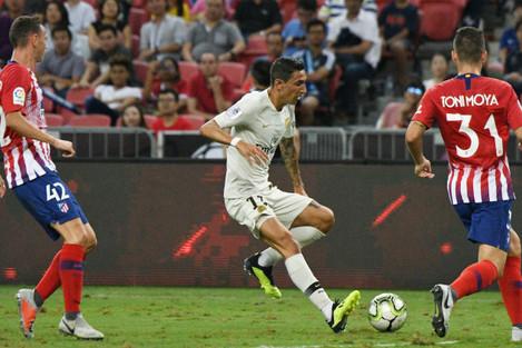 (SP)SINGAPORE-SOCCER-INTERNATIONAL CHAMPIONS CUP-PARIS SAINT-GERMAIN VS ATLETICO DE MADRID
