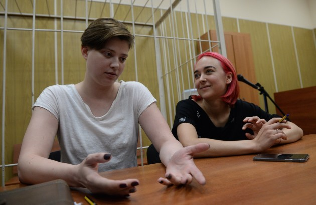 Russia: Pussy Riot in Court
