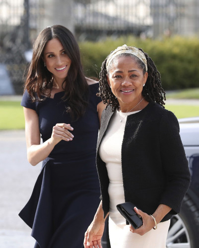 Meghan Markle with Doria Ragland