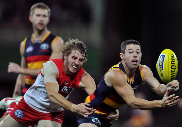 Australian Rules Football - AFL Premiership - Sydney Swans v Adelaide Crows - SCG