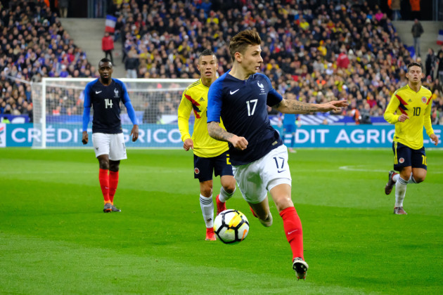 Soccer 2018 - France 2-3 Colombia