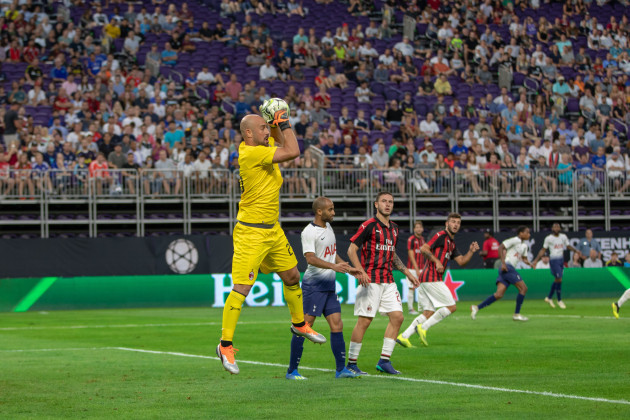 2018 International Champions Cup -Tottenham Hotspurs vs AC Milan, 1 - 0