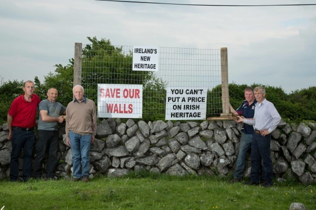 Photo from the Destruction of the Gateway to the Burren Facebook page (1)