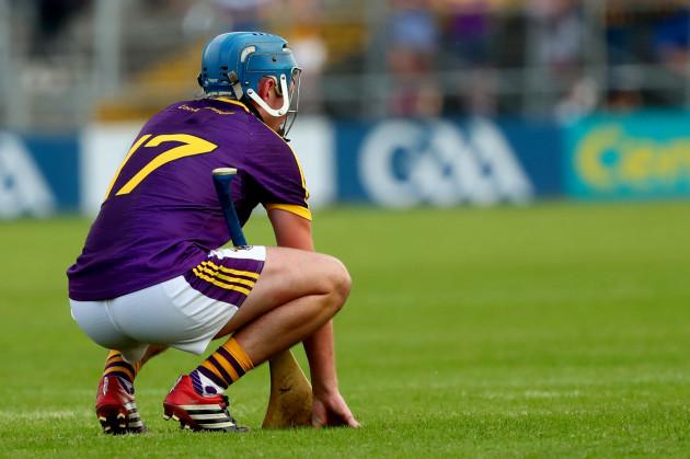 Conor Firman dejected