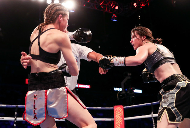 Katie Taylor finishes Kimberly Connor