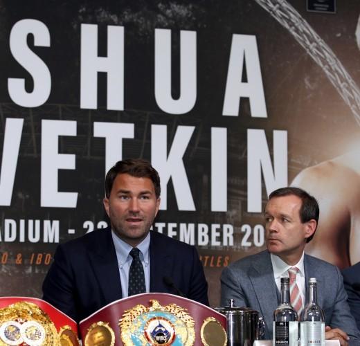 Anthony Joshua v Alexander Povetkin - Press Conference - Wembley Stadium