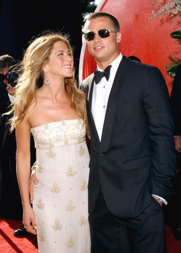 Jennifer Aniston And Brad Pitt File Photos