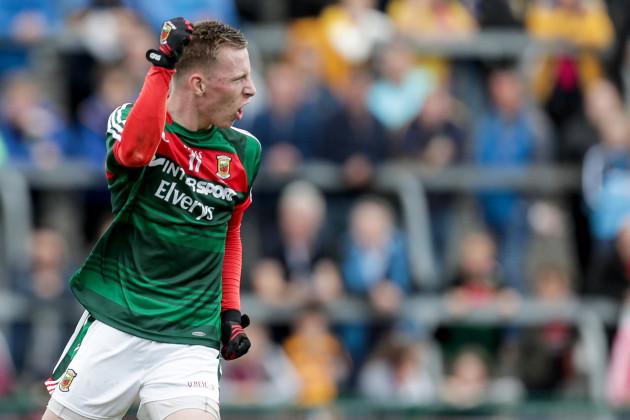 Ryan O'Donoghue celebrates after scoring a goal