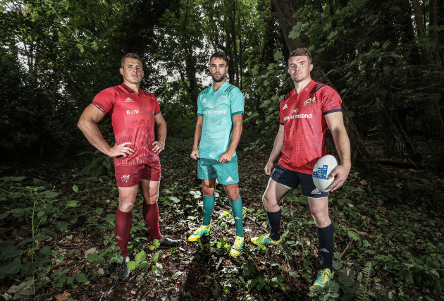 CJ Stander, Conor Murray and Peter O'Mahony