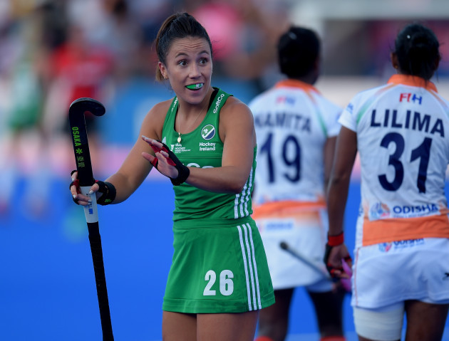 Anna O'Flanagan appeals after being pushed