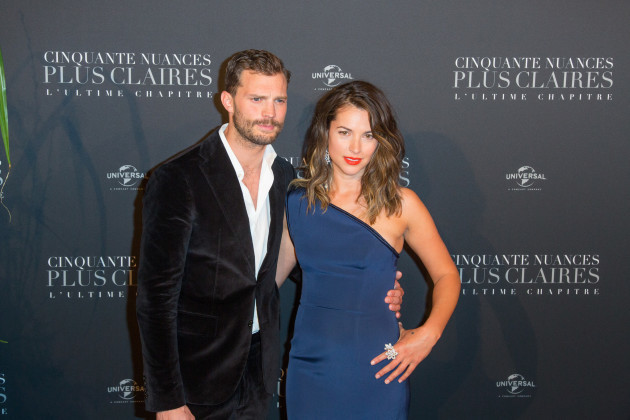 Fifty Shades Freed world premiere - Paris