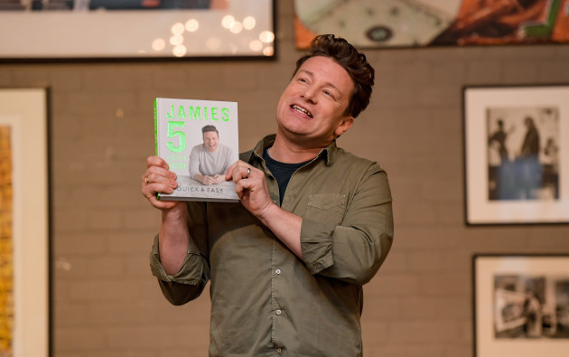 Live Cooking with Jamie Oliver