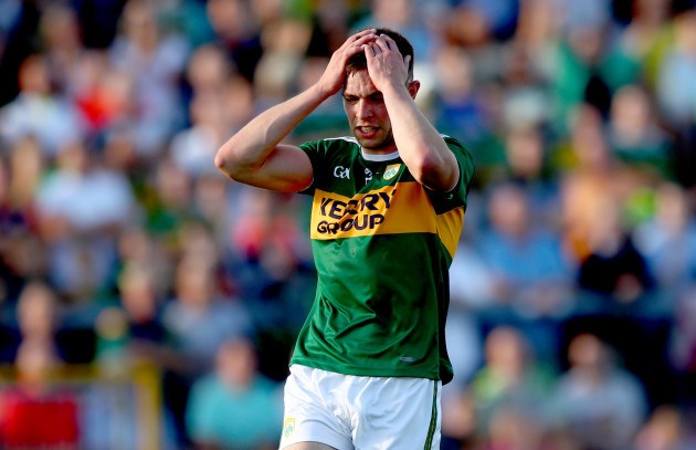 Jack Barry reacts to a missed chance