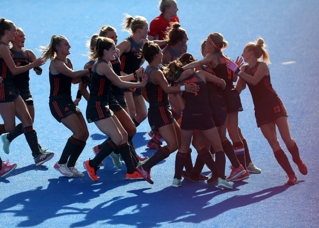 Netherlands v Australia - Vitality Women's Hockey World Cup - Semi Final - Lee Valley Hockey and Tennis Centre