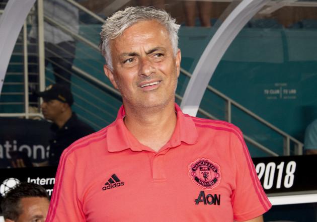 SOCCER: JUL 31 International Champions Cup - Manchester United FC v Real Madrid CF