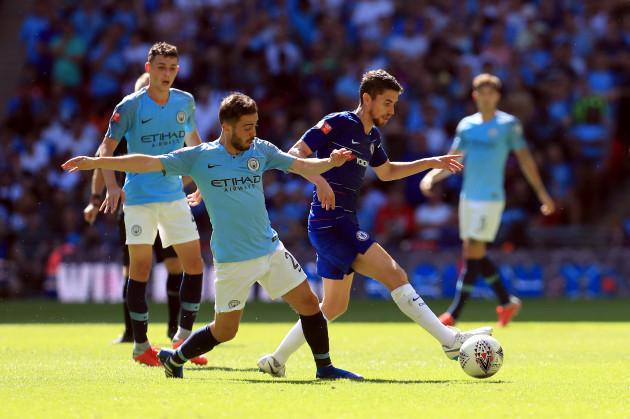 Chelsea v Manchester City - Community Shield - Wembley Stadium