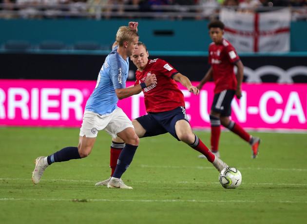 Soccer 2018: FC Bayern vs Manchester City