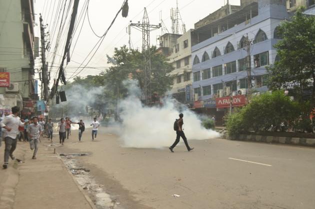 BANGLADESH-DHAKA-STUDENTS-PROTEST