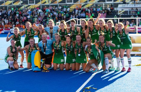 Netherlands v Ireland - Vitality Women's Hockey World Cup - Final - Lee Valley Hockey and Tennis Centre