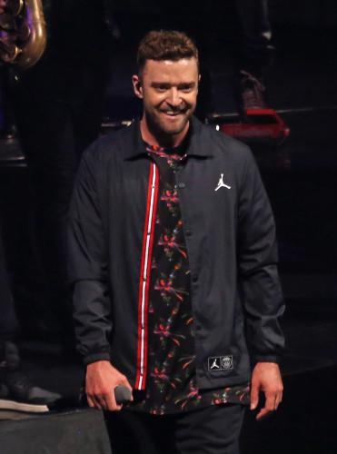 Justin Timberlake in concert - Paris