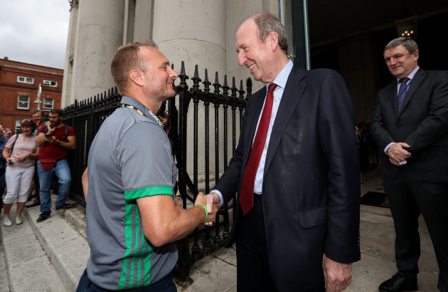 Graham Shaw with Shane Ross 6/8/2018