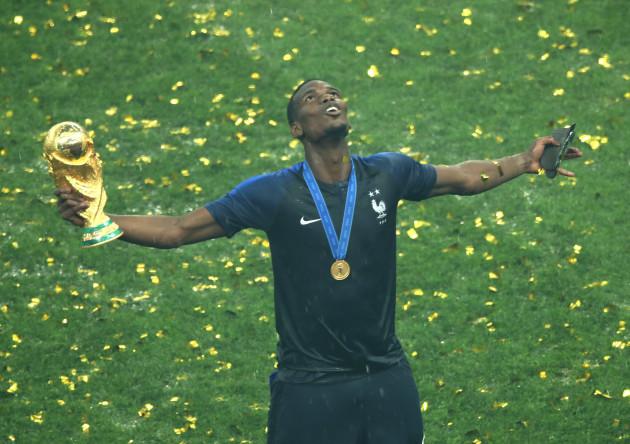 France v Croatia - FIFA World Cup 2018 - Final - Luzhniki Stadium