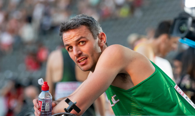 Thomas Barr after qualifying for the final