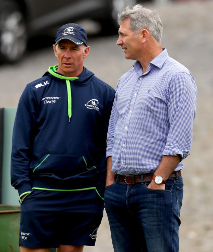 Andy Friend and Willie Ruane