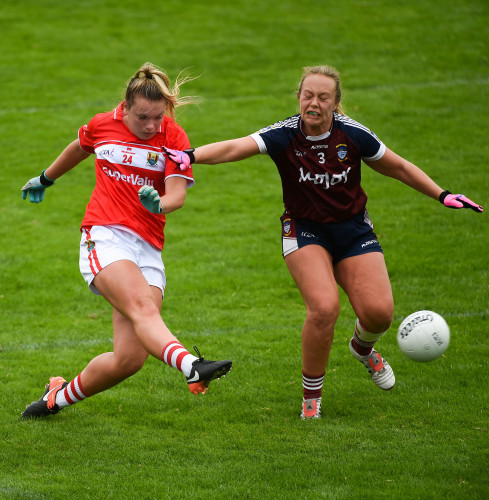 Cork v Westmeath - TG4 All-Ireland Ladies Football Senior Championship quarter-final