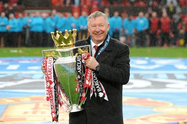 Sir Alex Ferguson File Photo