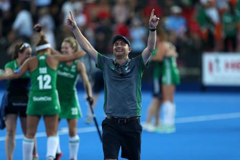 Ireland v India - Vitality Women's Hockey World Cup - Quarter Final - Lee Valley Hockey and Tennis Centre