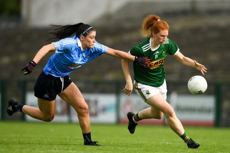 Kerry v Dublin - TG4 All-Ireland Ladies Football Senior Championship quarter-final