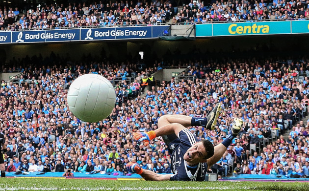 Stephen Cluxton saves a penalty