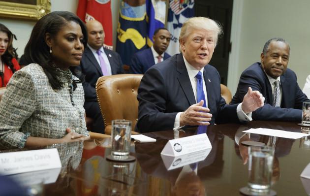 Donald Trump, Omarosa Manigault, Ben Carson, Lynne Patton