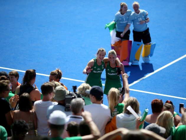Ireland v Spain - Vitality Women's Hockey World Cup - Semi Final - Lee Valley Hockey and Tennis Centre